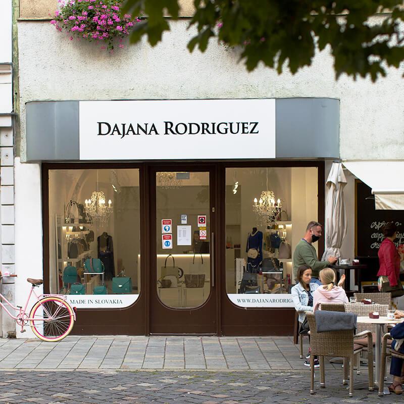 Predajňa Dajana Rodriguez v Bratislave