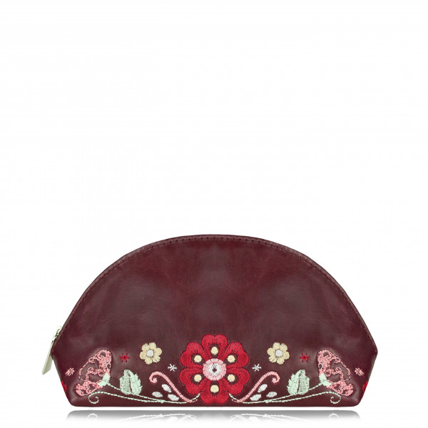 "COSMETIC BAG ""Folk"" Wine"