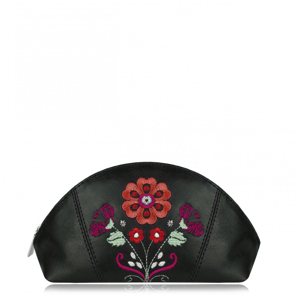 "COSMETIC BAG ""Folk II"" Black II"