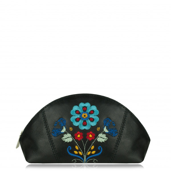"COSMETIC BAG ""Folk II"" Black IV"