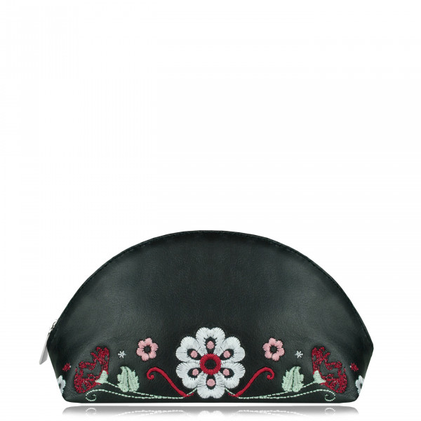 "COSMETIC BAG ""Folk"" Black"