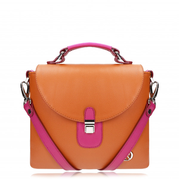 "SURI BOHEMIAN ""ORANGE+FUCHSIA"""