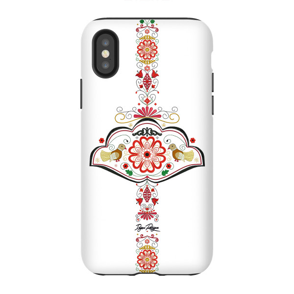 "Mobile phone cover Heart of Europe ""WHITE"""