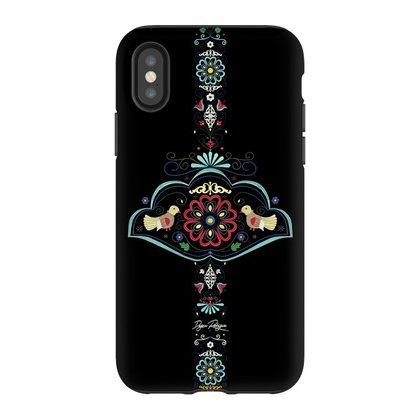 "Mobile phone cover Heart of Europe ""BLACK"""