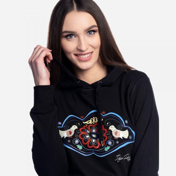 """Mikina Srdce Európy """"čierna"""""""