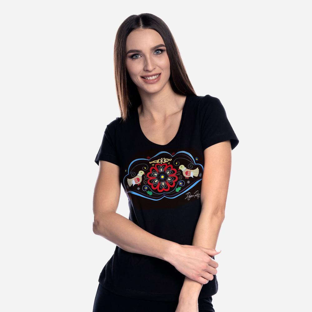 """Tričko Srdce Európy """"Čierne"""""""
