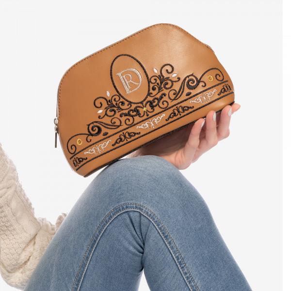 """COSMETIC BAG """"Princessa"""" Brown"""