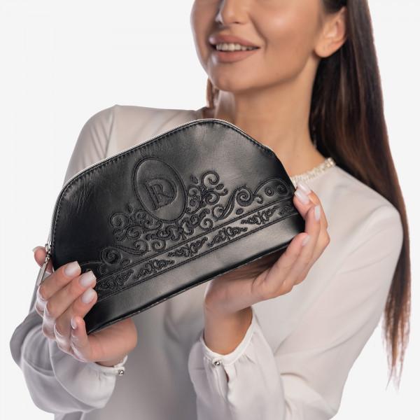 "Cosmetic Bag II ""Princessa"" Black"