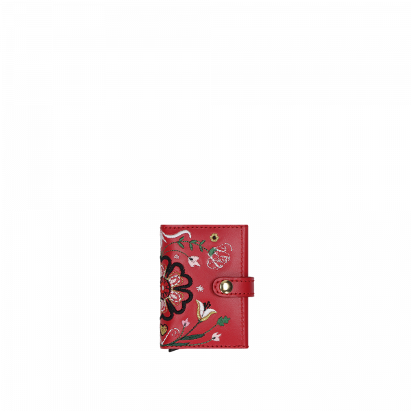 """CARD HOLDER HEART OF EUROPE """"RED"""""""